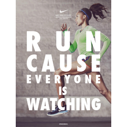 Nike: Run Cause Everyone is Watching | Найк