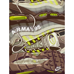 Sneakers Nike Airmax 95 | Кроссовки Найк