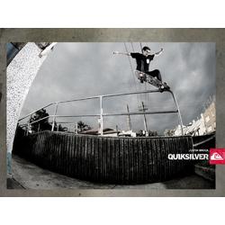 Skateboarding Quiksilver | Скейтбординг