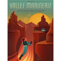 Valles Marineris | Долины Маринер