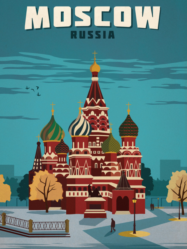Moscow   Москва