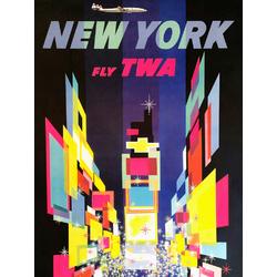 New York - Fly TWA | Нью Йорк