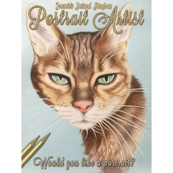 Cat - Postsait Artist | Кот