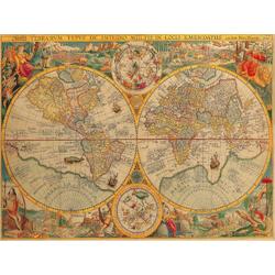 Old map geography | Винтажная карта географии