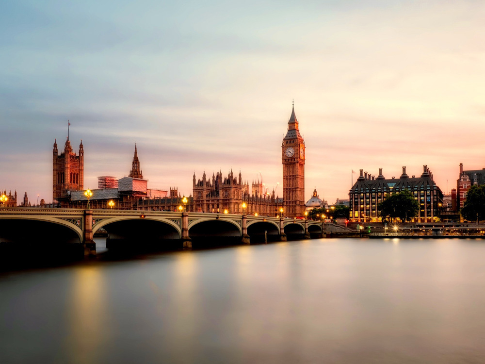 England: Big Ben   Англия Биг Бен