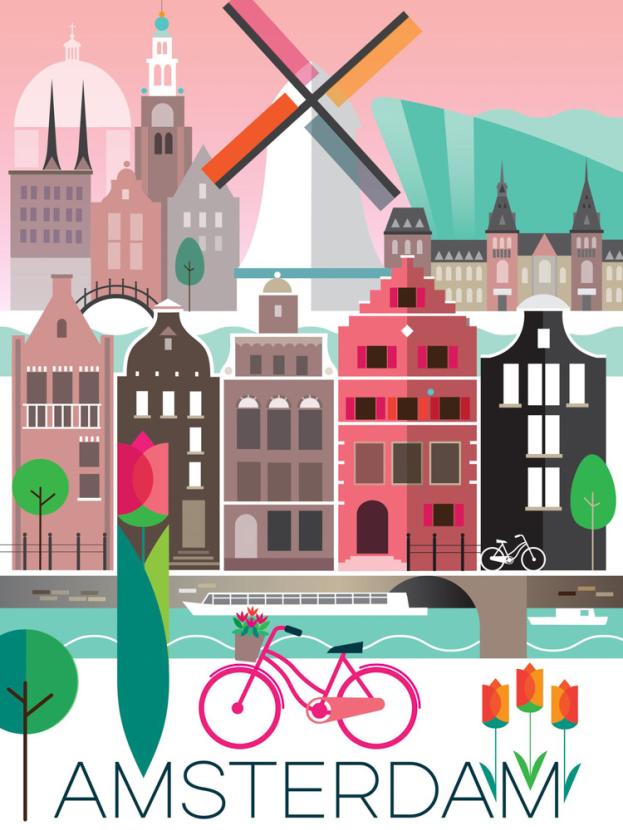 Amsterdam   Амстердам