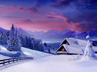 Категория постеров и плакатов Зима