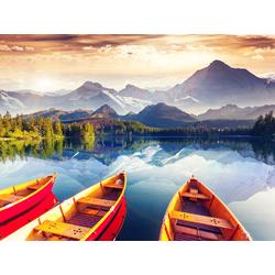Boat | Лодка в озере