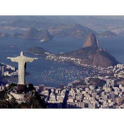 Rio de Janeiro - Cristo Redentor   Рио-де-Жанейро - Статуя Христа
