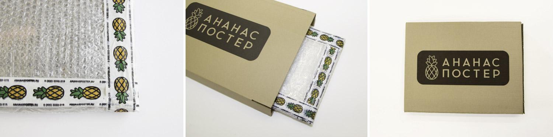 Упаковка в картонную коробку.