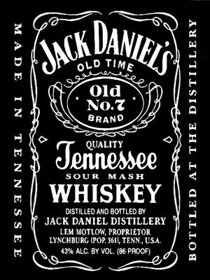 Постер (плакат) Jack Daniels Whiskey | Джек Дэниелс Виски
