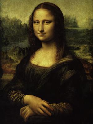 Постер (плакат) Leonardo Da Vinci | Mona Lisa | Мона Лиза