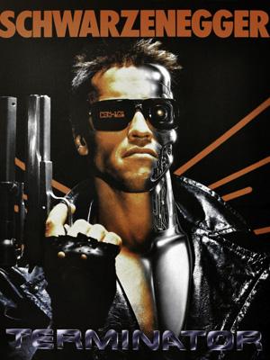 Постер (плакат) Terminator | Терминатор: Арнольд Шварценеггер