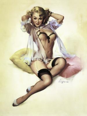 Постер (плакат) Pin-up Girl | Винтажная девушка