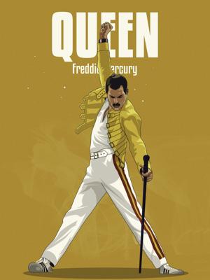 Постер (плакат) Freddie Mercury | Фредди Меркьюри