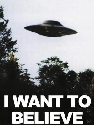Постер (плакат) I Want to Believe | Я хочу верить