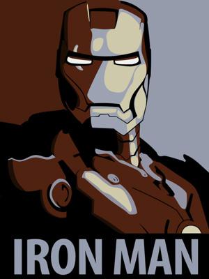 Постер (плакат) Iron Man | Железный человек