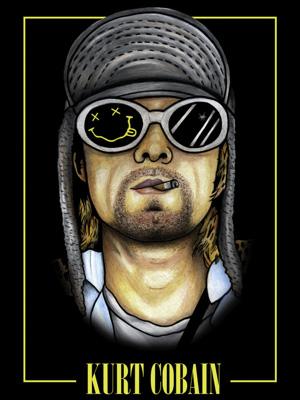 Постер (плакат) Kurt Cobain: Nirvana | Курт Кобейн: Нирвана